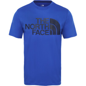 The North Face Flex 2 Big Logo SS Shirt Men tnf blue/montague blue